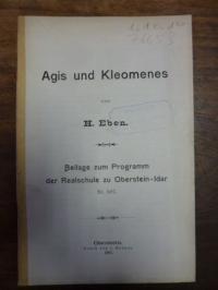 Eben, Agis und Kleomenes,