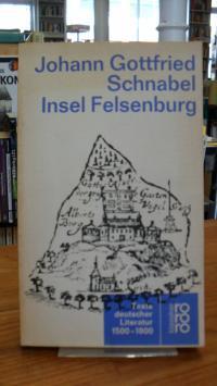 Schnabel, Insel Felsenburg – Wunderliche Fata einiger See-Fahrer, absonderlich A