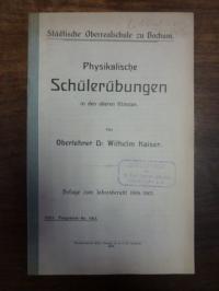 Kaiser, Physikalische Schülerübungen in den oberen Klassen,
