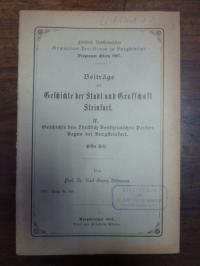 Döhmann, Beiträge zur Geschichte der Stadt und Grafschaft Steinfurt,