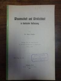 Drexler, Wissenschaft und Wirklichkeit in Kantischer Auffassung,