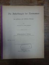 Rummler, Die Ansiedlungen der Normannen im westlichen und südlichen Europa,