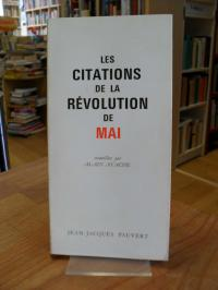 Ayache, Les citations de la révolution de mai,