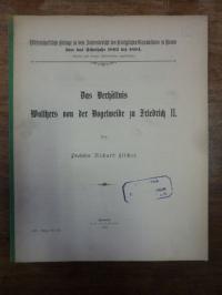 Amersbach, Das Verhältnis Walthers von der Vogelweide zu Friedrich II,