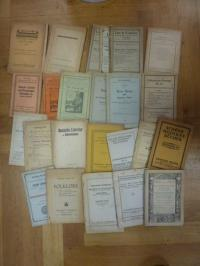 Antiquariatskataloge / Konvolut 1915-1923, Kataloge