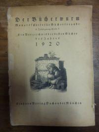Einhorn Verlag, Der Bücherwurm – Monatsschrift für Bücherfreunde – 6. Jg., Heft