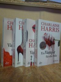 Harris, Konvolut von vier Romanen aus der Susie-Stackhouse-/True-Blood-Serie: Ba