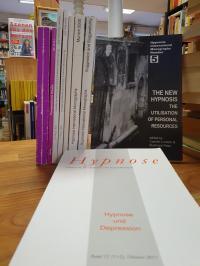 Moss, Konvolut: Schriften über Hypnose (teils in englischer Sprache),