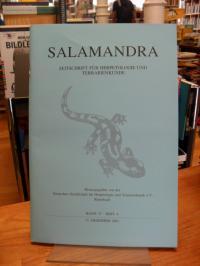 Deutsche Gesellschaft für Herpetologie und Terrarienkunde e. V., Salamandra – Ze