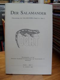 Deutsche Gesellschaft für Herpetologie und Terrarienkunde e. V., Der Salamander