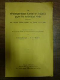Bachem, Die kirchenpolitischen Kämpfe in Preußen gegen die katholische Kirche, i