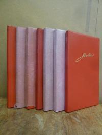 Goethe, Konvolut: 7 Stück: Goethe Kalender auf das Jahr  1983, 1984, 1985, 1986,