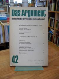 Haug, Das Argument 42 – Berliner Hefte für Probleme der Gesellschaft – 9. Jahrga