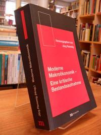 Moderne Makroökonomik – Eine kritische Bestandsaufnahme,
