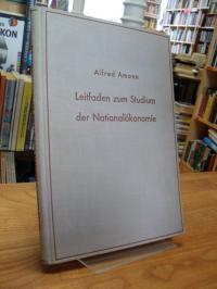 Amonn, Leitfaden zum Studium der Nationalökonomie,