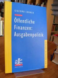 Corneo, Öffentliche Finanzen: Ausgabenpolitik,