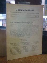 Ehemalige evangelischen Kirchengemeinde Freiburg / Schlesien, Gemeindebrief für