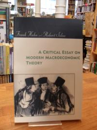 Hahn, A Critical Essay on Modern Macroeconomic Theory,