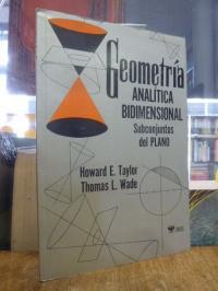 Geometria Analitica Bidimensional – Subconjuntos del Plano,