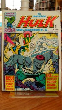 Meyer, Der unglaubliche Hulk – Comic Taschenbuch Nr. 22,