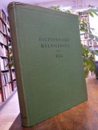 Dictionnaire Multilingue de la Federation Internationale des Geometres, Edition
