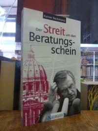 Beckmann, Der Streit um den Beratungsschein,