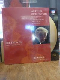 Beethoven, Beethoven Piano Concerto No. 3, Brahms Piano Concerto No. 1 [als CD-V
