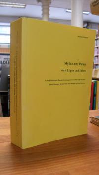 Ortmeyer, Mythos und Pathos statt Logos und Ethos – Zu den Publikationen führend