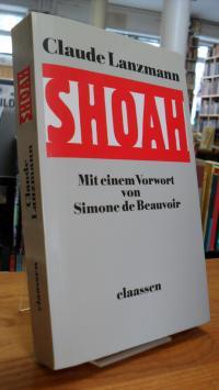 Lanzmann, Shoah – Mit einem Vorwort von Simone de Beauvoir,