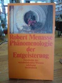 Menasse, Phänomenologie der Entgeisterung,