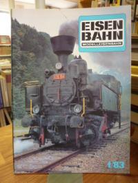 Eisenbahn – Modelleisenbahn – Band 1 / 83  36. Jahrgang,