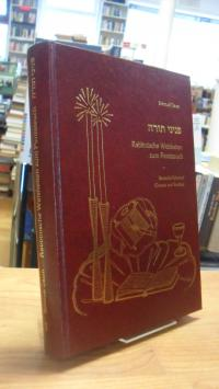 Daum, Rabbinische Weisheiten zum Pentateuch – Band 1 – Bereschit – Schemot / Gen