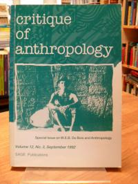 Critique of Anthropology, Vol. 12, Nr. 3, Sept. 1992: Special Issue on W.E.B. Du