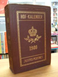 Gothaischer Genealogischer Hofkalender 1900