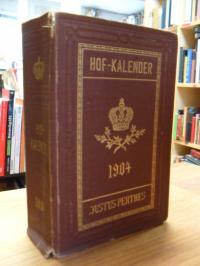 Gothaischer Genealogischer Hofkalender 1904