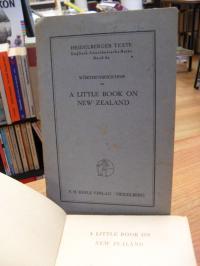 Drexler-Mac Neil, Wörterverzeichnis zu A little book on New Zealand,