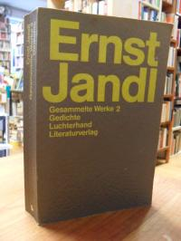 Jandl, Gesammelte Werke, Band 2: Gedichte 2,