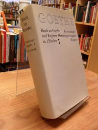 Goethe, Briefe an Goethe  – Kommentare und Register – Hamburger Ausgabe, Band 1