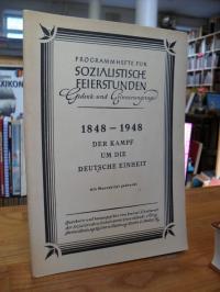 Zentral Sekretariat der SED – Abteilung Parteischulung, 1848 – 1948 – Der Kampf