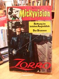 Disney, Mickyvision – Heft 5 – 29. April 1964 – Zorro: Rettung im letzten Augenb