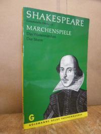 Shakespeare, Märchenspiele: Das Wintermärchen / Der Sturm – Gesammelte Werke 15