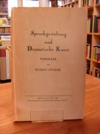 Steiner, Sprachgestaltung und dramatische Kunst,