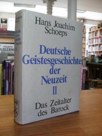 Schoeps, Deutsche Geistesgeschichte der Neuzeit – Band 2 – Das Zeitalter des Bar
