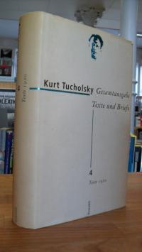 Tucholsky, Gesamtausgabe – Texte und Briefe -Band 4: Texte 1920,