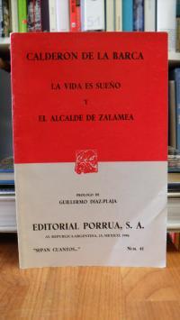 Calderon de la Barca / Guuillermo Diaz-Plaja (Vorwort), La vida es sueno y el al