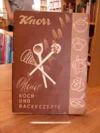 Knorr Werbebroschur, Knorr – Neue Koch und Backrezepte,