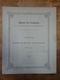 Gnauck, Odorich von Perdenone, ein Orientreisender des 14. Jahrhunderts,