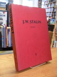 Stalin, Werke [in 15 Bänden] – Band 1 – 1901 – 1907,