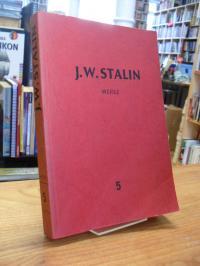 Stalin, Werke [in 17 Bänden] – Band 5 – 1921 – 1923,