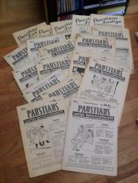 Konvolut Paustians lustige Sprachzeitschrift für Fortbildun, Nachhilfe und Unter